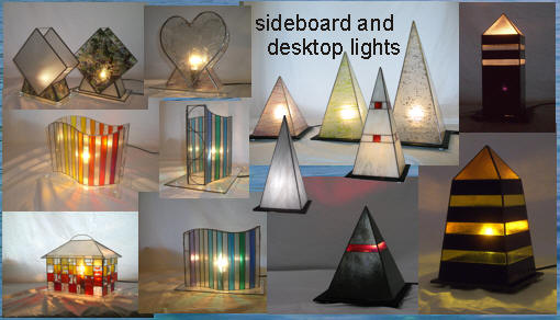 Sideboard and desktop Lights